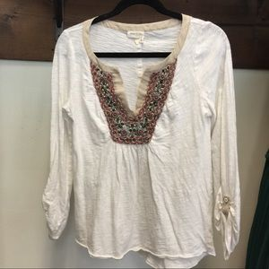 Anthropologie Tops - 🌷Anthropology meadow Rue top
